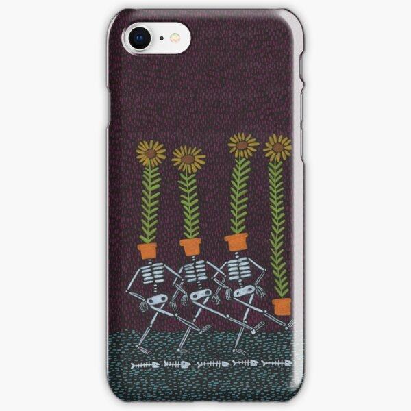 Sunflower Skeletons iPhone Snap Case