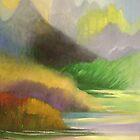 marshy land by zhenlian