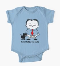 The Cat Stole My Pants One Piece - Short Sleeve