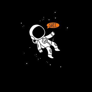 Speech Bubble Astronaut by Maya-mae