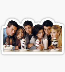 Friends Tv Show Cast Sticker