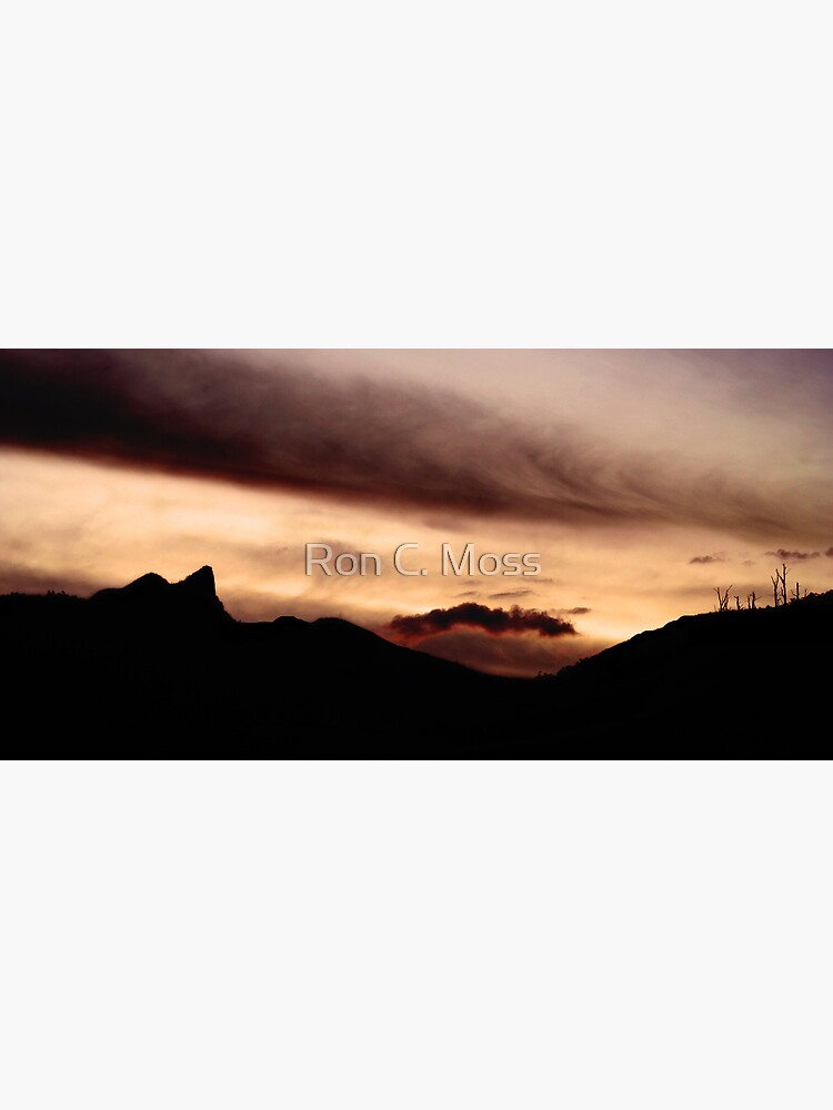 Cathederal Rock, Mount Wellington Range, Tasmania by ronmoss