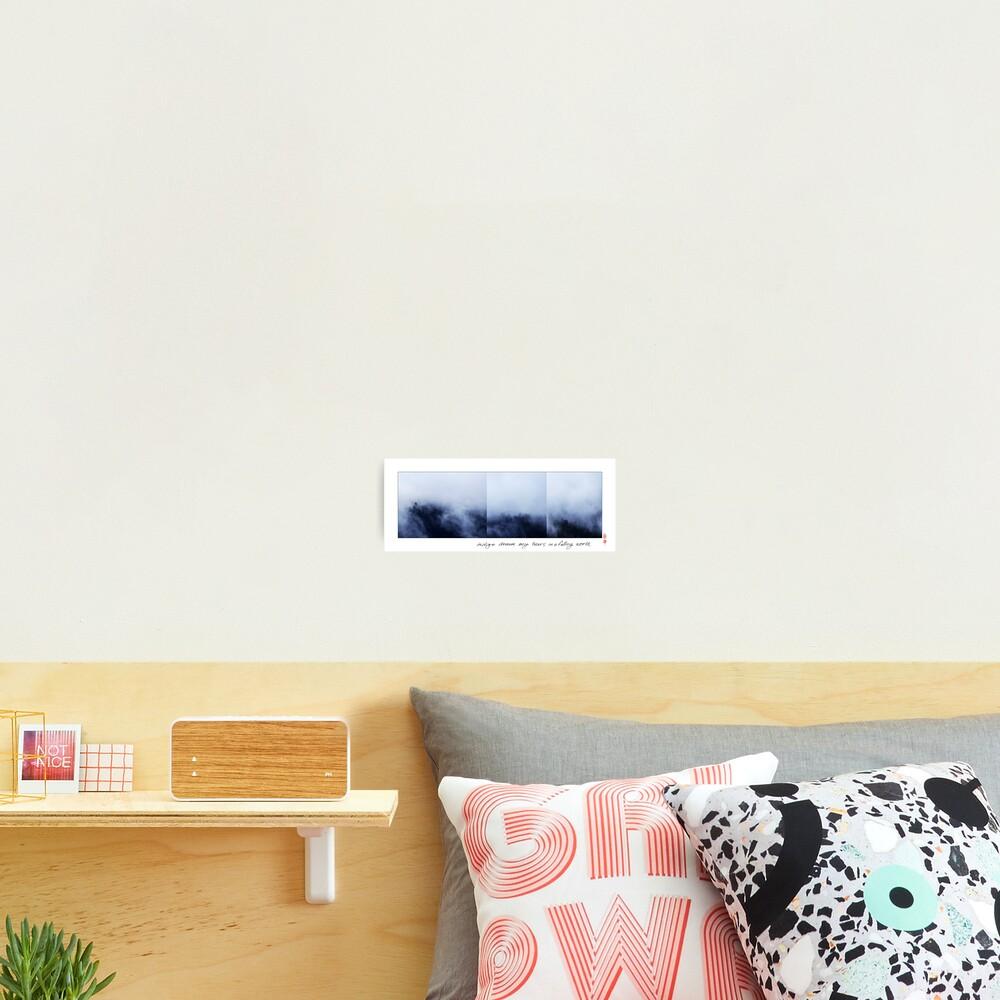 Indigo Dream Photographic Print
