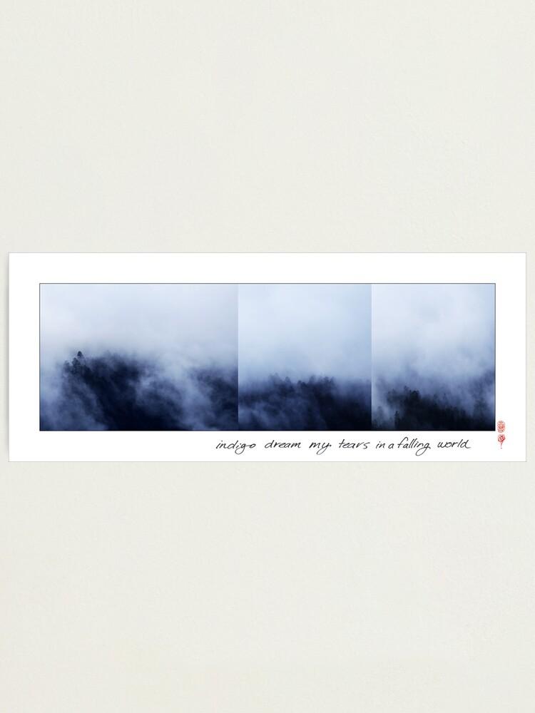 Alternate view of Indigo Dream Photographic Print