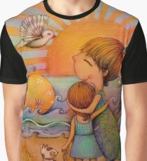 whale watching Graphic T-Shirt