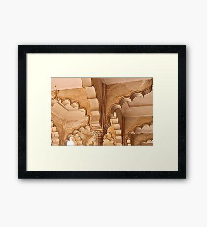 Agra Arches Framed Print