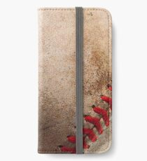 Baseball iPhone Wallet/Case/Skin