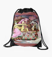 Fluttershy and Discord Drawstring Bag