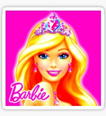 BARBIE - ANIMATED - LOGO Sticker