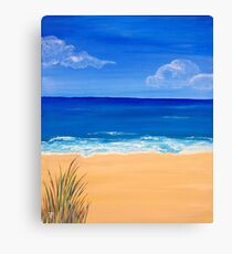 Beachscape 1 Canvas Print