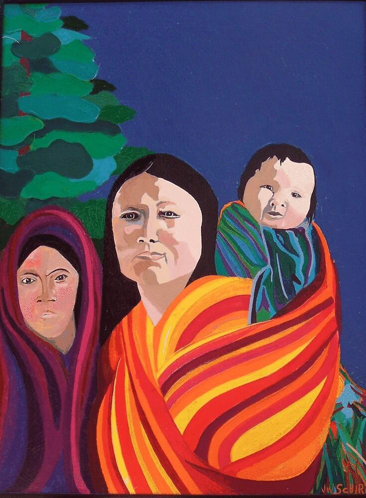 Mother's Strength 2 by Jamie Winter-Schira