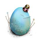 Ladybird Hugs by Karin Taylor