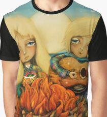 beach campfire Graphic T-Shirt