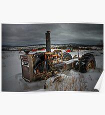 Winter's Grip... Poster