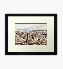 Quito's historic district  Framed Print