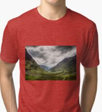 Road to Glencoe Tri-blend T-Shirt