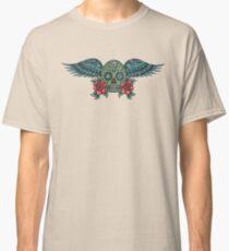 Flying Sugar Skull Classic T-Shirt