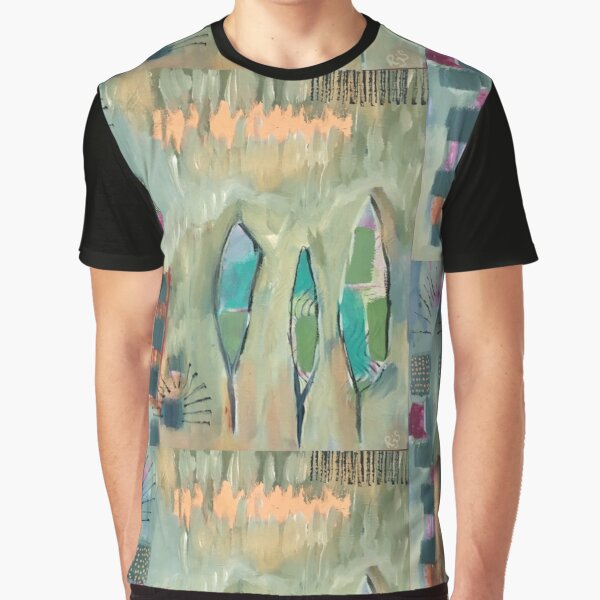 Feather Glow Graphic T-Shirt