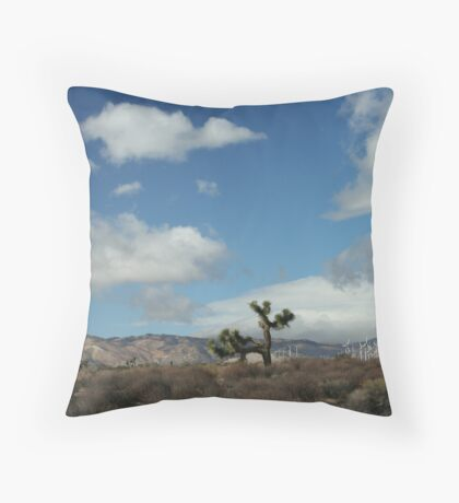 Oak Creek Canyon, CA Throw Pillow