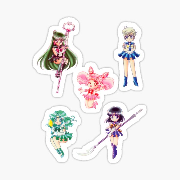 Sailor Scouts Sticker Set 2 Sticker