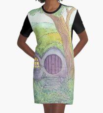 Underhill at Dusk Graphic T-Shirt Dress