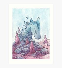 The First Foxdragon Art Print