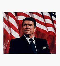 Lámina fotográfica Presidente Ronald Reagan
