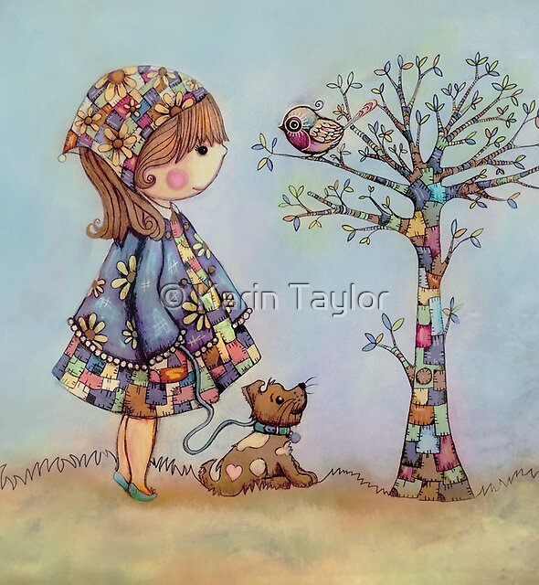 The Patchwork Tree by Karin Taylor
