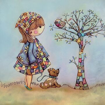 The Patchwork Tree by karin