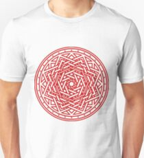 Roseknot, Hollow Crimson Unisex T-Shirt