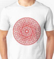 Roseknot, Hollow Crimson Slim Fit T-Shirt