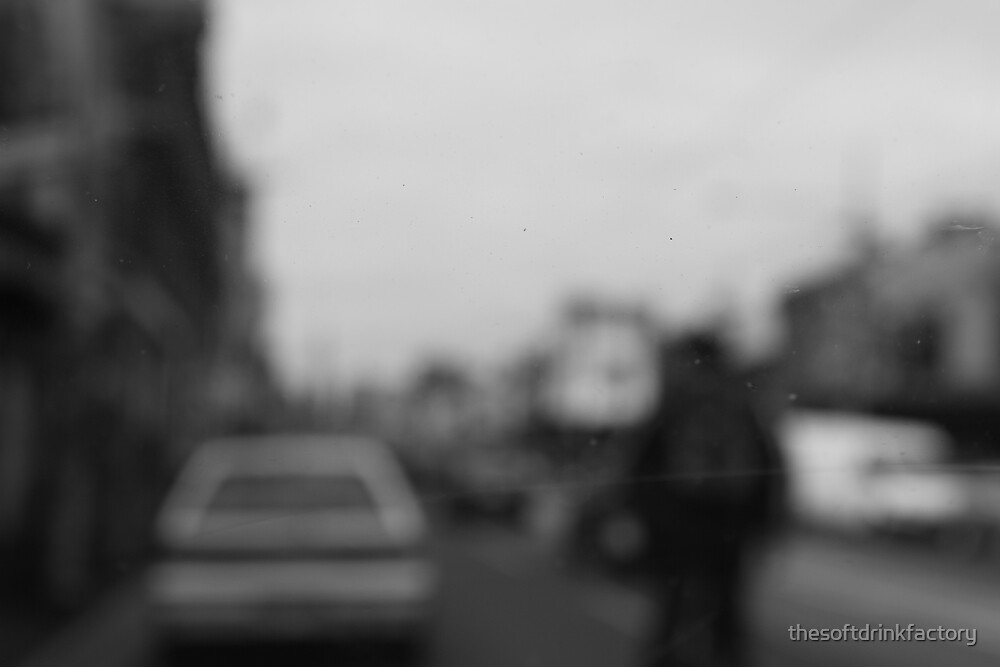 Brunswick Street's a blur by thesoftdrinkfactory