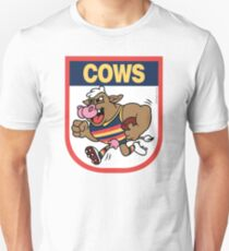 AFL BBQ Series - Adelaide Cows Unisex T-Shirt