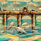 Dolphin Pier by Karin Taylor