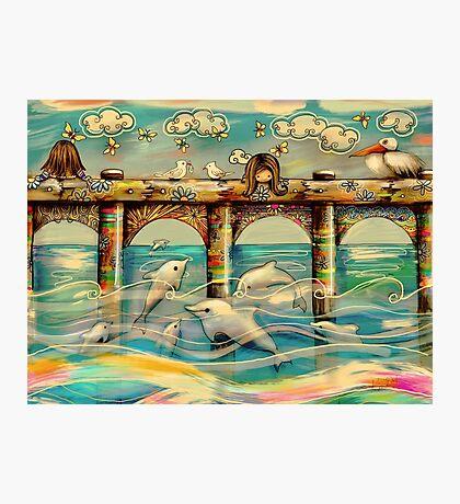 Dolphin Pier Photographic Print