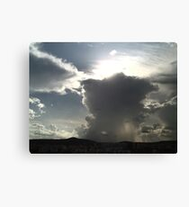 Divine intervention Canvas Print