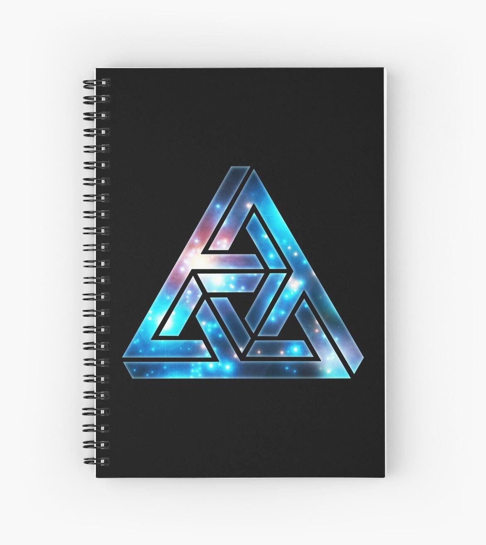 Cuadernos de espiral «Triángulo Imposible cf3e60607b7c5