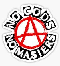 NO GODS NO MASTERS Sticker