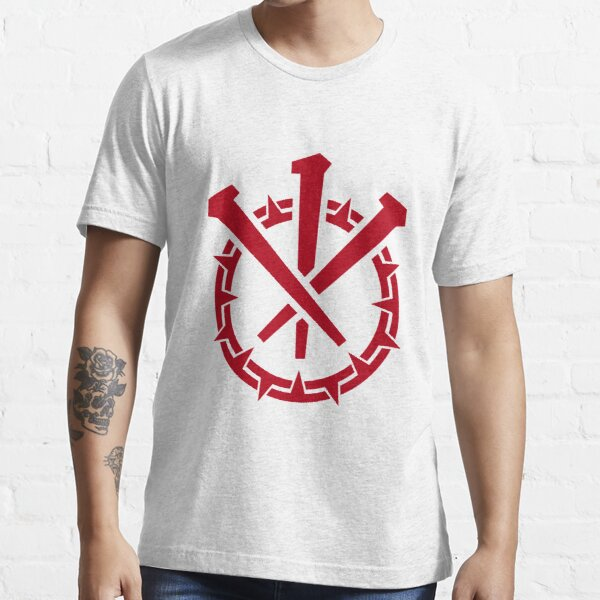 Crown and Nails, Crimson Essential T-Shirt