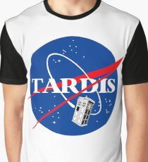 Nasa Tardis Graphic T-Shirt