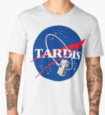 Nasa Tardis Men's Premium T-Shirt