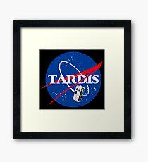 Nasa Tardis Framed Print