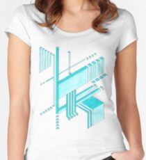 Isometric Women's Fitted Scoop T-Shirt