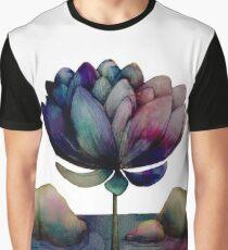rainbow lotus flower Graphic T-Shirt