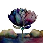 rainbow lotus flower by © Karin Taylor
