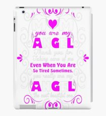 Mom Angel Thanks You For Taking Care Of Me Tshirt T-Shirt  iPad Case/Skin