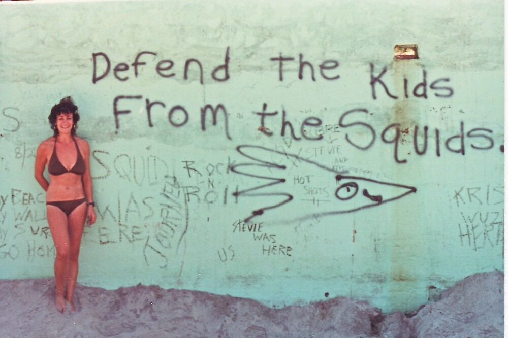 Defend the Kids from the Squids by Gary  Crandall