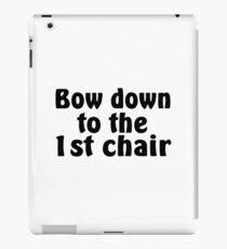 First Chair iPad Case/Skin