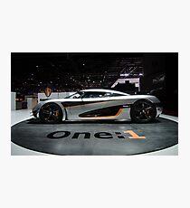 Koenigsegg One:1 Photographic Print