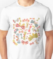 Butterfly Tango on White T-Shirt